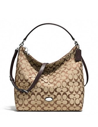 Coach Celeste 12Cm Convertible Hobo In Signature Canvas