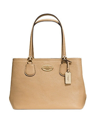 Coach Kitt Carryall Satchel In Crossgrain Leather
