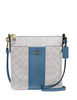 Coach Kitt Center Stripe Messenger Crossbody