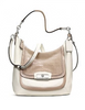 Coach Kristin Spectator Leather Hobo