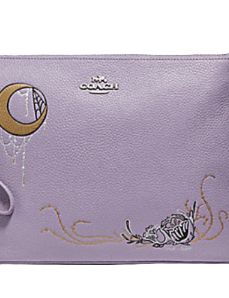 Coach Large Wristlet 30 With Chelsea Animation