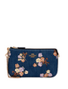 Coach Large Wristlet With Painted Floral Box Print