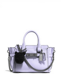 Coach Pebble Leather Mini Kiti Swagger 20