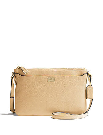 Coach Madison Pebble Leather Swingpack Crossbody