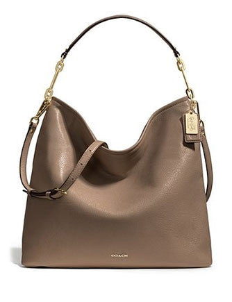 Coach Madison Pebbled Leather Convertible Hobo