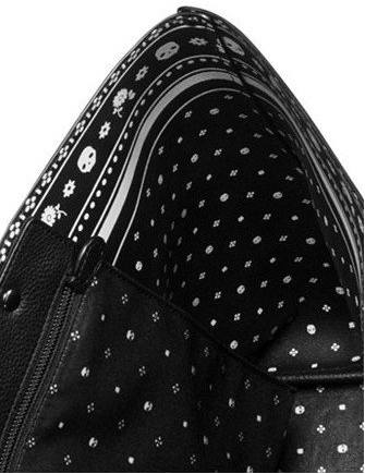 Coach Market Tote in Skull Bandana Printed Leather