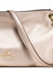 Coach Metallic Leather Charley Crossbody