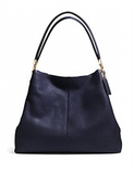 Coach Madison Large Phoebe Leather Shoulder Bag