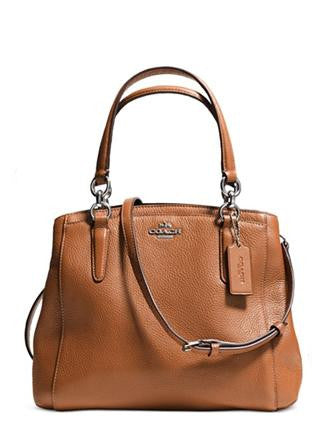 Coach Minetta Chicago Pebble Leather Crossbody