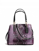 Coach Minetta Crossbody in Python Embossed Leather