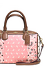 Coach Mini Bennett Satchel in Butterfly Bandana Print Coated Canvas