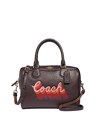 Coach Mini Bennett Satchel With Coach Script