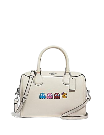 Coach Mini Bennett Satchel With Pac Man
