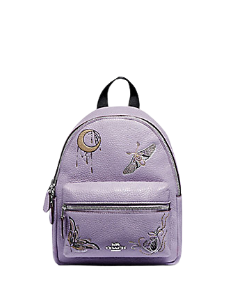 Coach Mini Charlie Backpack With Chelsea Animation