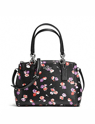 Coach Mini Christie Carryall in Small Wildflower Print