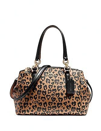 Coach Mini Christie Carryall in Wild Heart Print