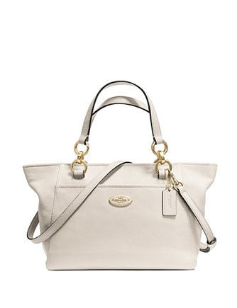 Coach Mini Ellis Tote in Refined Pebble Leather