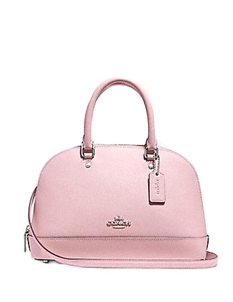 Coach Mini Sierra Satchel in Crossgrain Leather