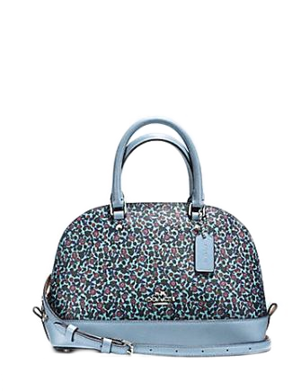 Coach Mini Sierra Satchel in Ranch Floral Print Coated Canvas
