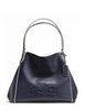 Coach Embossed Horse and Carriage Edie Shoulder Bag