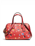 Coach Nolita Satchel in Floral Print Pebble Leather