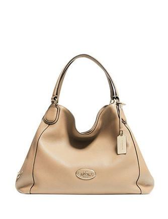 Coach Edie Shoulder Bag in Pebbled Leather