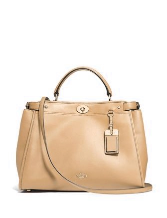 Coach Gramercy Top Handle Satchel Bag In Smooth Leather
