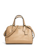 Coach Mini Nolita Zip Satchel In Pebble Leather