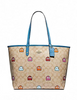 Coach Pac-Man Signature Reversible City Tote
