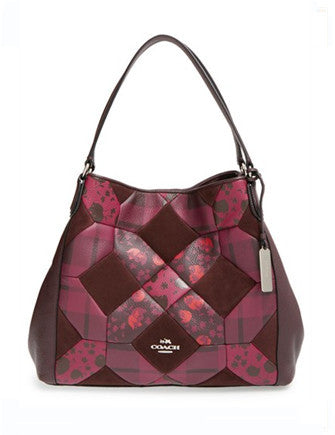 Coach Edie Shoulder Bag 31 in Patchwork Leather