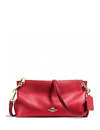 Coach Pebble Leather Charley Crossbody
