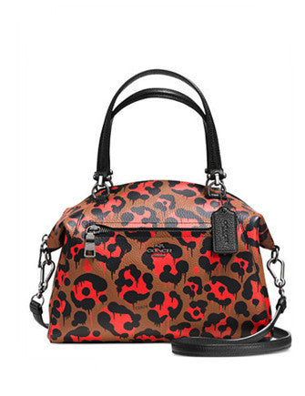Coach Prairie Satchel in Wild Beast Print Leather