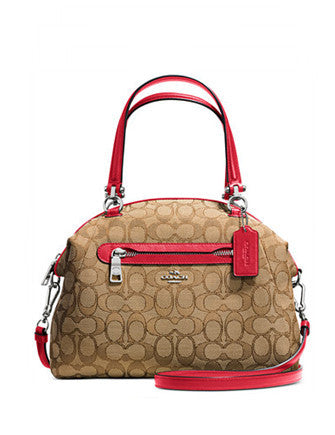 Coach Prairie Satchel in Signature Print Canvas