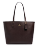 Coach Reversible City Tote in Signature Canvas With Butterfly Print