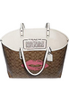 Coach Reversible City Tote in Signature Canvas With Lips Motif