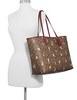 Coach Reversible City Tote in Signature Canvas With Party Animal Print