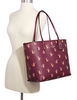 Coach Reversible City Tote With Party Cat Print
