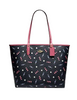 Coach Reversible City Tote With Scattered Candy Print