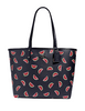 Coach Reversible City Tote With Watermelon Print