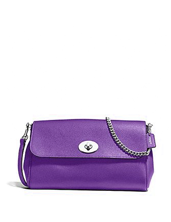 Coach Ruby Crossgrain Leather Crossbody