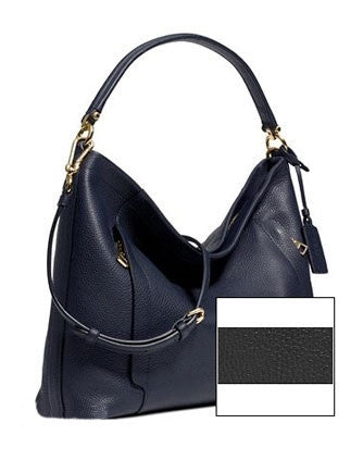 Coach Scout Hobo Shoulder Bag in Pebble Leather