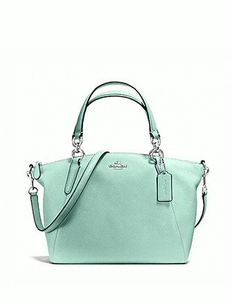 Coach Small Kelsey Satchel in Pebbled Leather