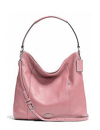 Coach Isabelle Pebbled Leather Hobo Bag