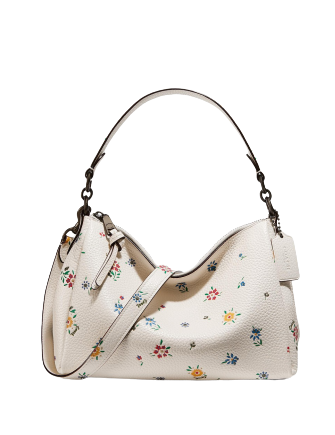 Coach Shay Crossbody With Wildflower Print