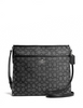 Coach Signature Print File Bag Crossbody