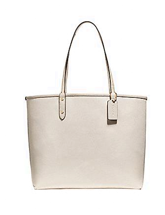 Coach Signature Reversible Road Trip New York Tote