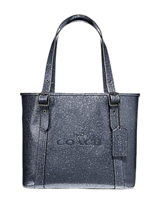 Coach Small Ferry Tote With Glitter