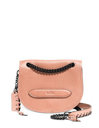 Coach Small Shadow Crossbody in Pebble Leather