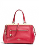 Coach Smooth Leather Lex Satchel
