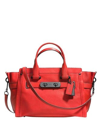 Coach Soft Swagger Carryall in Soft Grain Leather